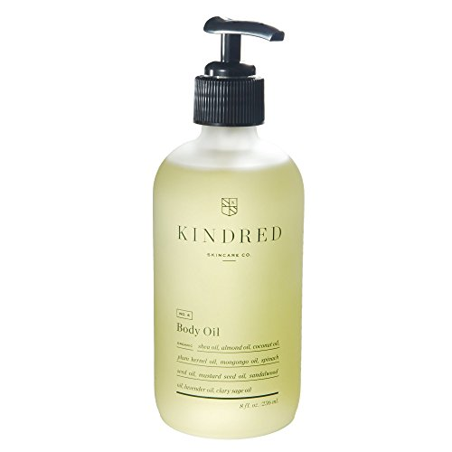 Oz Oil 8 Body (Kindred Skincare Co Body Oil, 8 oz)
