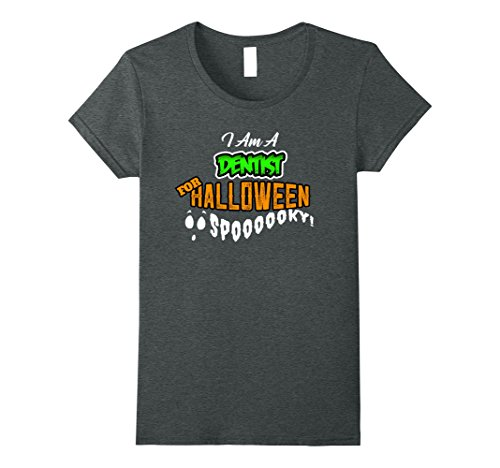 Womens Dentist Funny DIY Cheap Halloween Costume Supplies Medium Dark (Dentist Halloween Prop)