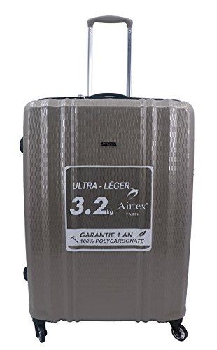 valigia nero L AirtexTrolley Brown AirtexTrolley nero f6Yb7gy
