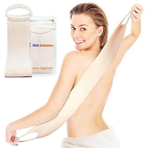 Lotion Applicators for Your Back - Easy Self Application of Lotions and Creams - Smooth and Even Application to Entire Back - Tanning Lotion Back Applicator