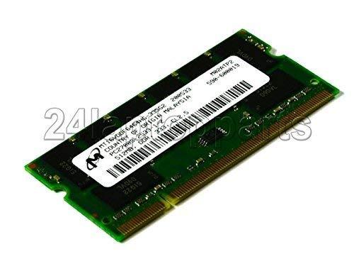 Mircon 512MB PC-2700S DDR CL2.5 SODIMM MT16VDDF6464HG-335G2 (Pc Ddr Memory 512mb)