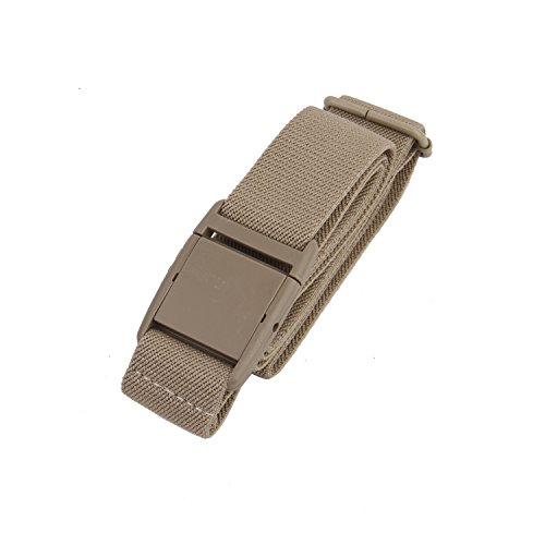 Beige Stretch Belt - Gelante Women Invisible Belt - Elastic Adjustable Slimming No Show - 2045-Beige (0-14)