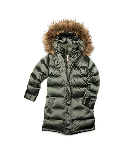 Appaman Kids Girl's Long Down Coat (Toddler/Little Kids/Big Kids)