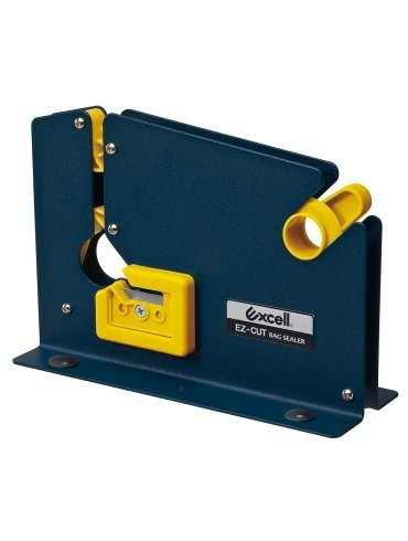 (WOD Excell ET-605K Blue Steel Housing Premium Bag Sealing Taper Dispenser for Ground Meat Packaging System & Bag Neck Sealer: for up to 1/2