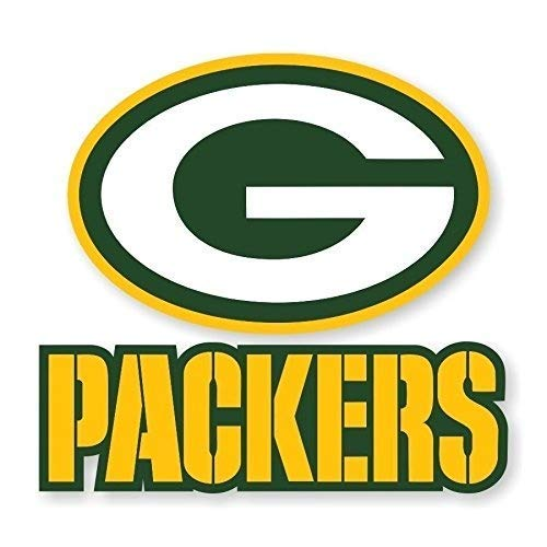 (Green Bay Packers Vinyl Stickers | 4 Size Emblem Window Poster Helmet Die Cut | Green Bay Packers Vest Patch (9