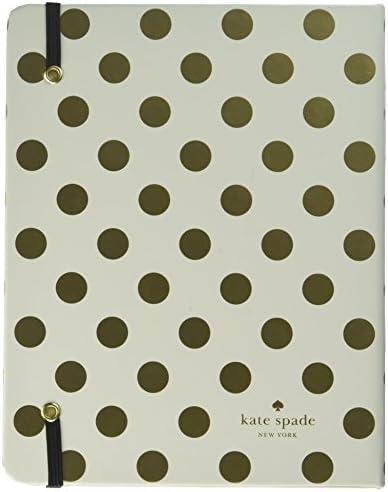Kate Spade New York Womens Dots Medium 17 Month Spriral Agenda