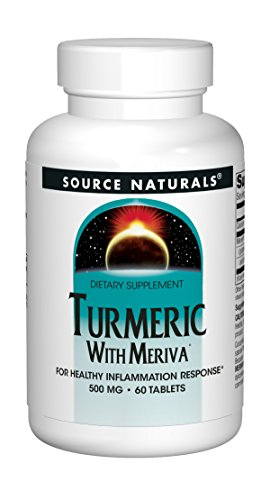 Source Naturals Turmeric with Meriva 500mg For Healthy Inflammatory Response - 60 Tablets