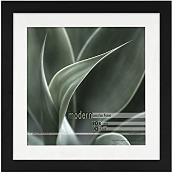 Amazon Com Framatic Modern 12x12 Inch Frame Matted For