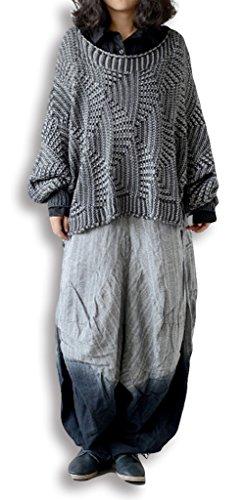 Lixmee - Pantalón - para mujer _01Grey