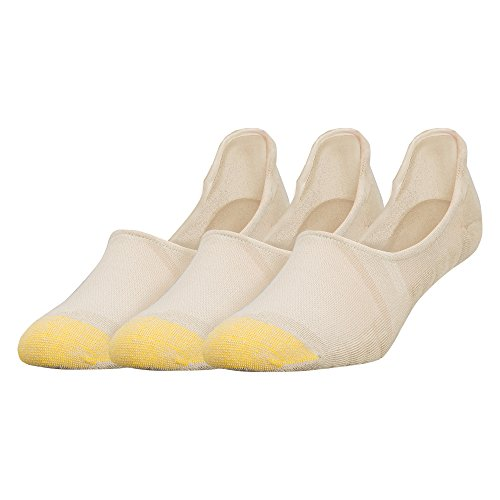 Gold Toe Men's The Tab No Show 3-Pack, Khaki, Sock Size: 10-13/Shoe Size:9-11