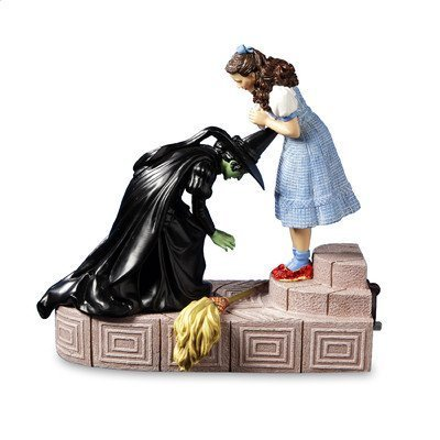 - Wicked Witch with Dorothy Ruby Slippers Figurine