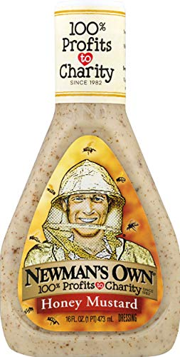 Newman's Own Honey Mustard Salad Dressing, 16-oz.