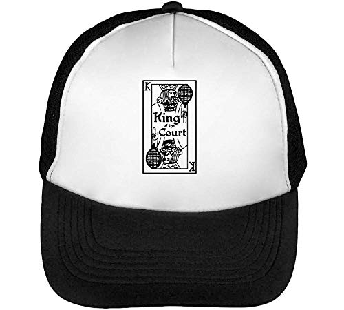 Beisbol Tennis The Of Cool King Blanco Hombre Card Court Gorras Snapback Negro UzpFURca