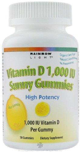 Rainbow Light Gummy Multivit D Iu Sunny