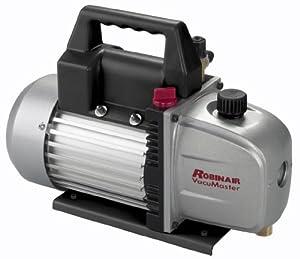 9. Robinair 15310 VacuMaster Single Stage Vacuum Pump - Single-Stage, 3 CFM