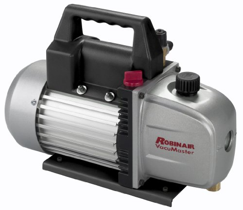 Robinair (15510) VacuMaster Single Stage Vacuum Pump - Single-Stage, 5 CFM ()