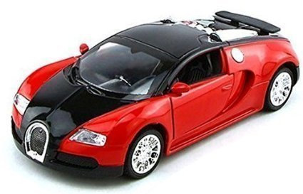 NuoYa001 Top Gift 1:36 Bugatti Veyron Diecast Car Model Collection with Sound&Light Red (Bugatti Veyron Model compare prices)