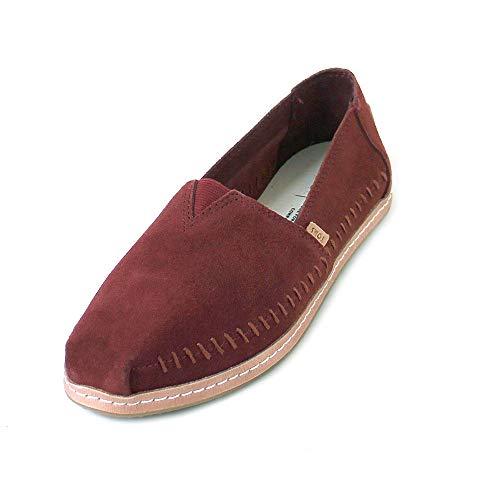 TOMS Muskat Suede Women's Classics Slip-On Shoes (9 B US) -