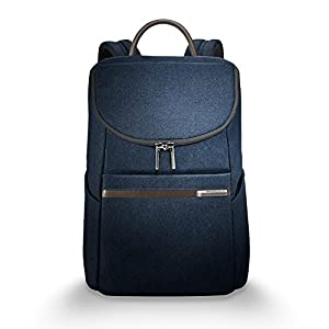 upc 789311000489 product image for Briggs & Riley Kinzie Street, Small Wide Mouth Backpack, Navy | barcodespider.com