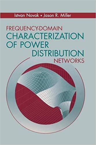 Frequency Domain Characterization Of Power Distribution Networks Artech House Microwave Library Hardcover Novak Istvan Miller Jason R Ebook Amazon Com