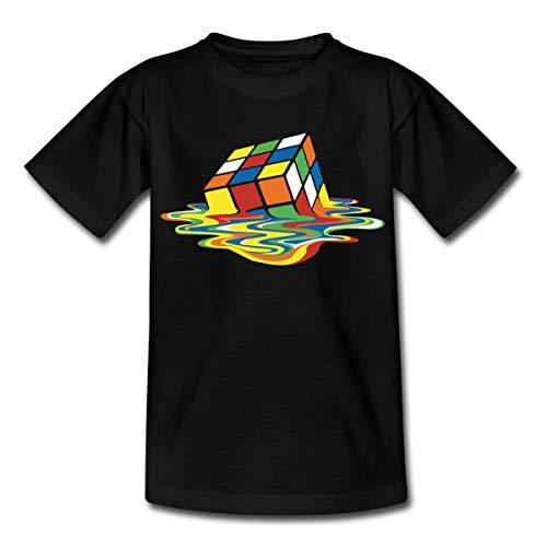 Spreadshirt Rubik's Cube Rubiks Kubus Smelten Teenager T-shirt