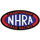 """NHRA National Drag Racing vynil car sticker 6"""" x 3"""""""