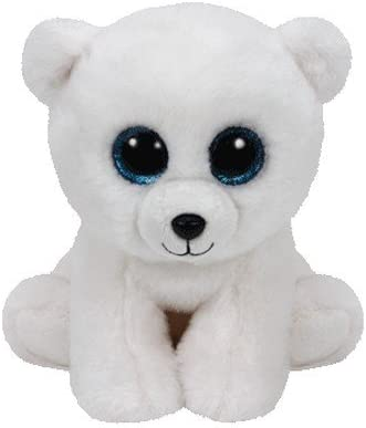 NWT Ty Beanie Baby AURORA the Polar Bear 2000 Retired Stuffed Animal Toy