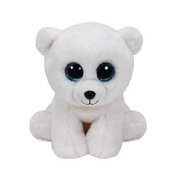 Ty - Classics Arctic, Oso Polar de Peluche, 15 cm, Color Blanco (