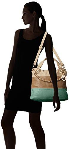 mG Blue tone neuf collection tri sac Ece umwelttaschen femme tote Turquoise shopper CB56wgnqx