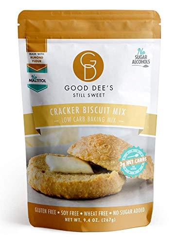 Good Dee's Cracker Biscuit Mix - Low Carb, Keto Friendly, Diabetic Friendly, Sugar Free, Gluten Free