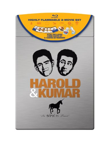 Harold & Kumar (Harold & Kumar Go to White Castle / Harold & Kumar Escape from Guantanamo Bay / A Very Harold & Kumar Christmas) (Ultimate Collector's Edition) [Blu-ray] (Harold & Kumar Go To Guantanamo Bay)