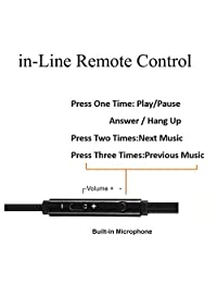 Auriculares con micrófono, 2 unidades, auriculares con micrófono y control de volumen, aislamiento de ruido con estuche de almacenamiento