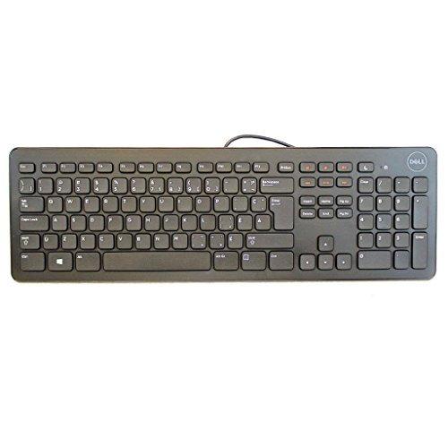NEW Dell Black Multimedia USB Keyboard KB213P French CANADIAN 17F9Y