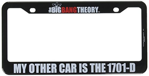 41dRT5QL9xL Home Locomotion Big Bang Theory/Star Trek 1701-D License