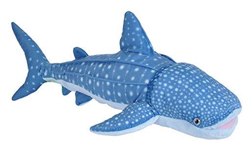 Wild Republic Whale Shark Plush, Stuffed Animal, Plush Toy,