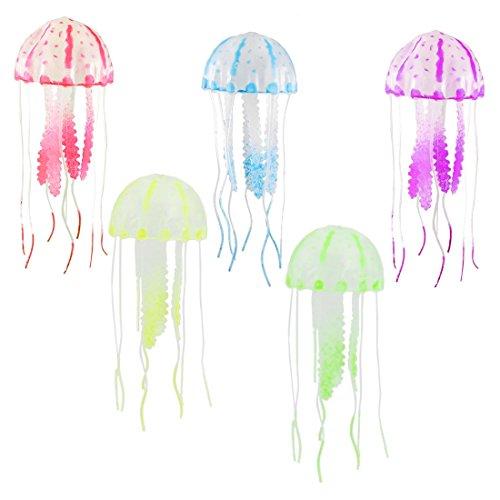 Aquarium Decoration Silicone Artificial Jellyfish