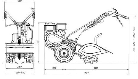 EUROSYSTEMS RTT3 MAZDA ROBIN MOTOCOLTIVATORE MOTOR DE ...