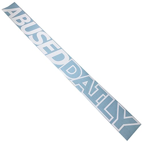 Abused Daily Windshield Banner Decal / Sticker (Banner Hoody)