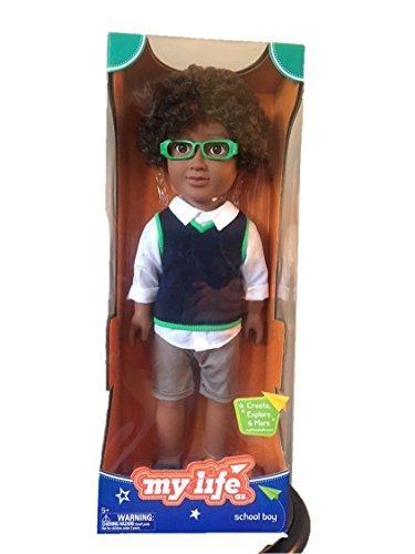 My Life As School Boy 18 African American (AA) - Green - The African Boy