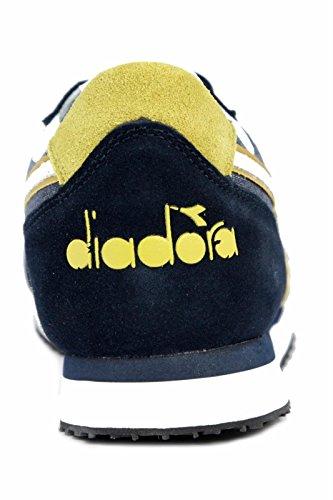 Collo – Diadora blu Unisex K Run Basso Adulto C a II Sneaker gYU7wg