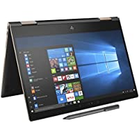 HP Spectre x360-13t Quad Core(8th Gen Intel i7-8550U, 1 TB PCIe NVMe SSD, 16GB RAM, IPS micro-edge Touchscreen Corning Gorilla, Windows 10 Ink)Bang & Olufsen 13.3 2-in-1 Convertible - Dark Ash