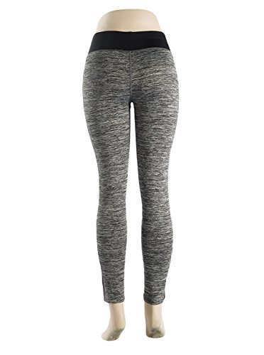 Womens Big Girls Soft Comfy Printed Yoga Leggings Hot Orange Small/Medium
