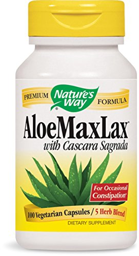 Nature's Way Aloe MAXLAX, 100 Vcaps