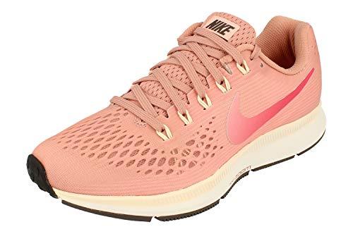Nike Womens Air Zoom Pegasus 34 Running Trainers 880560 Sneakers Shoes (UK 4 US 6.5 EU 37.5, Rust Pink Tropical Pink 606) (Zoom Nike Kobe 4)