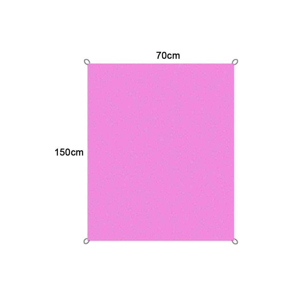 para Picnic Demino Impermeable Manta de Picnic Impermeable para Playa Tejido Oxford Esterilla Aislante Exterior Plegable Amarillo Gruesa 70 * 150cm