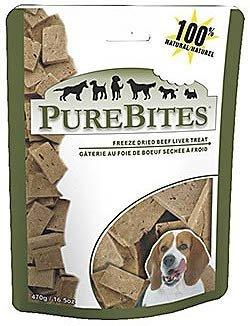 PURE TREATS INC. PureBites Beef/Liver Freeze Dried Treats 8.8 oz.
