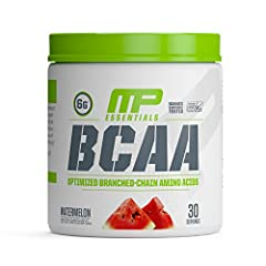 When you're ready to recover from an intense workout, MusclePharm's BCAA Powder is the ultimate post-workout recovery drink. Engineered for the hard-working athlete and workout enthusiast, MP Essentials BCAA Powder packs 6 grams of BCAA amino...