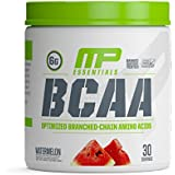 MP Essentials BCAA Powder, 6 Grams of BCAAs Amino Acids, Post Workout Recovery Drink for Muscle Recovery and Muscle Building, MusclePharm, Watermelon, 30 Servings