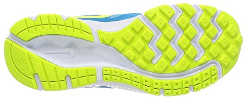 Nike Downshifter 6 (GS/PS) - Zapatillas de running para mujer Clearwater/Volt-Bl Lgn-Pnk Pw