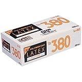 LeABLE No.380 ラテックスグローブ ノンパウダー ポリマーコートLサイズ 1個(100枚入)